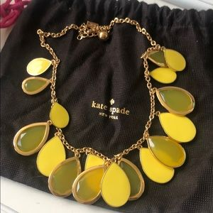 Kate Spade lemondrop necklace